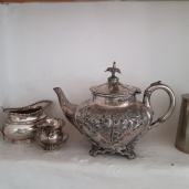 Pewter Shelf